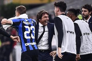"""Inter, Conte si gode il successo nel derby: """"Gruppo sano, abbiamo giocato da squadra"""""""