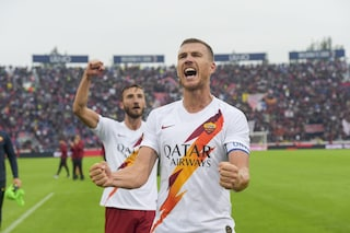 """Dzeko esalta la Roma: """"Una vittoria voluta, per il campionato ci siamo anche noi"""""""