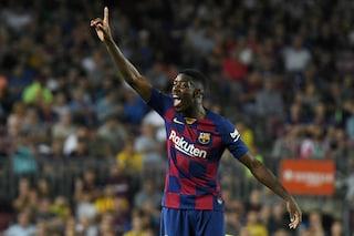 Champions League, nuovo infortunio in casa Barcellona: Ousmane Dembelé salta l'Inter