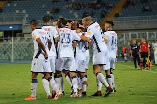 Serie B, il Crotone espugna Pescara e sale al secondo posto in classifica