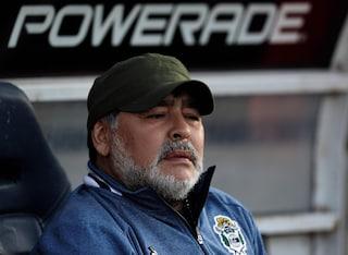 Argentina, terzo ko per il Gimnasia: Maradona si scusa in lacrime davanti ai tifosi