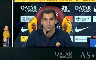 """Mkhitaryan si presenta: """"La Roma non è passo indietro, gioco in tutti i ruoli d'attacco"""""""