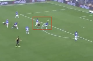 Sampdoria-Inter, gol di Sensi o Sanchez? Per la Lega di A la rete è del centrocampista