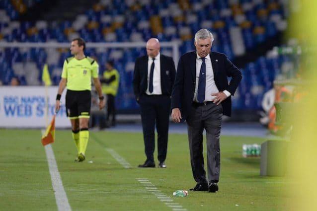 Ancelotti post Napoli-Cagliari: