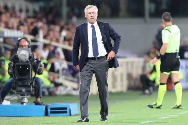 San Paolo, gli spogliatoi non sono pronti, furia Ancelotti: