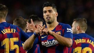 Suarez dedica il gol contro il Valencia a Xana, la figlia di Luis Enrique