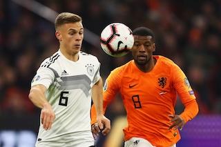 Euro 2020, le partite di oggi: dove vedere in tv Germania-Olanda