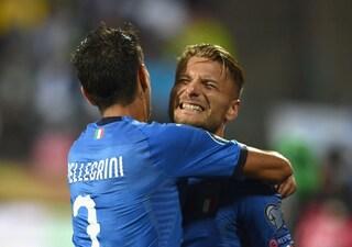 L'Italia va, sesta vittoria di fila: Barella migliora, Immobile si sblocca