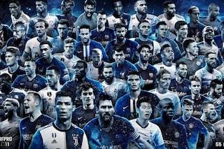FIFA FiFPro11 2019: tra i 55 candidati l'unico italiano è Giorgio Chiellini