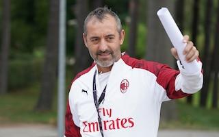 """Milan, Giampaolo: """"Piatek non deve pensare solo al gol. Maledizione Verona? Non ci credo"""""""