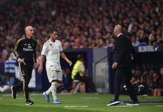 """Zidane difende Hazard: """"Non sono preoccupato, farà vincere tanti trofei al Real Madrid"""""""
