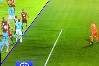 Moviola di Cagliari-Inter, ecco perché il Var convalida la rete di Lautaro Martinez