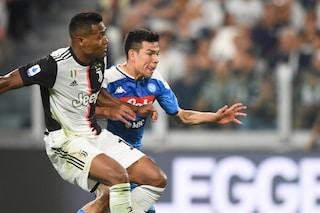"""Napoli, Lozano: """"Ronaldo mi ha fatto i complimenti quando ho segnato alla Juve"""""""