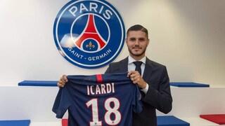 """Mauro Icardi al Psg: """"Qui posso vincere tutto con Cavani, Neymar e Mbappé"""""""
