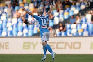 Napoli, classifica marcatori azzurri: Mertens a -3 da Maradona è a -9 da Hamsik