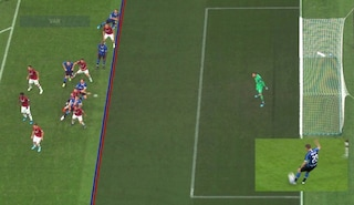 Moviola Milan-Inter, il Var annulla il gol di Lautaro: ecco perché