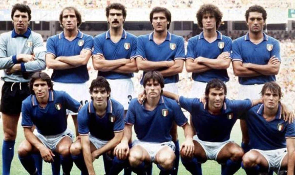 L'Italia del Mundial di Spagna.