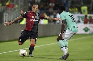 Cagliari, le ultime sulla formazione per il Genoa: fuori l'infortunato Nainggolan