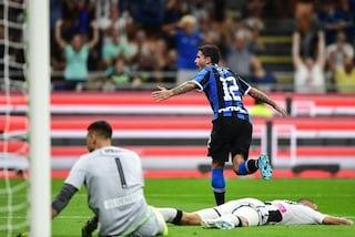 Le pagelle di Inter-Udinese sul risultato di 1-0