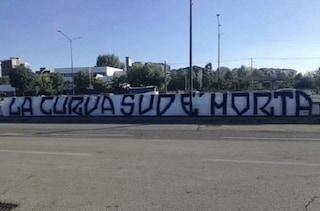 "Juventus, ultras arrestati: ""La Curva Sud è morta"", striscione davanti all'Allianz Stadium"
