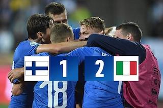 L'Italia vince in Finlandia: la qualificazione ad Euro 2020 è ad un passo