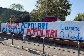 Serie A, biglietti sempre più costosi: protesta ultrà nelle curve di tutti gli stadi