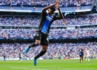 Real Madrid, pari e paura. Dennis lo sbeffeggia esultando come CR7