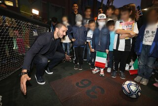 """Nazionale, Bonucci: """"Contro la Grecia vinciamo per i piccoli del Bambin Gesù"""""""