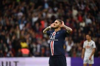 Icardi e Lukaku all'Inter, l'argentino manda segnali da Parigi