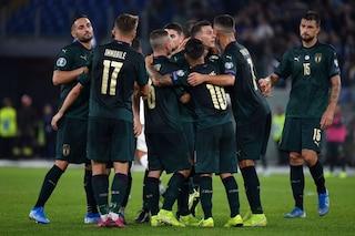 L'Italia è già qualificata per Euro 2020 ma deve vincere per migliorare il Ranking Fifa