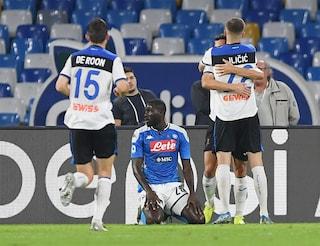 Atalanta, quattro tiri in porta e due gol. Napoli furioso, ma dov'è la difesa?