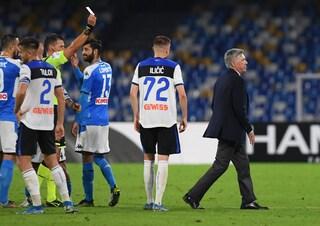 """Rigore negato al Napoli, Ancelotti: """"Offesa la mia serietà. È stato un errore clamoroso"""""""
