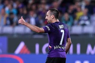 """Fiorentina, Ribery: """"In Italia c'è più passione, e che orgoglio gli applausi di San Siro"""""""
