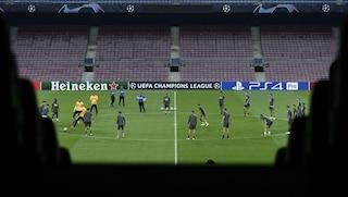 Inter, difesa compatta e inserimenti veloci: così si mette in difficoltà il Barcellona