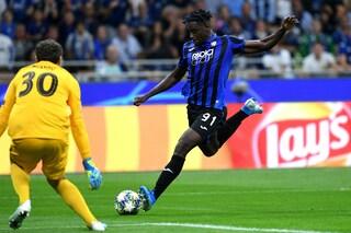 Atalanta, infortunio per Duvan Zapata: l'attaccante rischia uno stop di 30 giorni