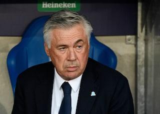 """Napoli, Ancelotti: """"La tribuna di Insigne? L'ho visto poco brillante in allenamento"""""""