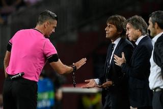 """Inter, Conte si lecca le ferite: """"Sconfitta ingiusta, l'arbitro non ci ha rispettati"""""""