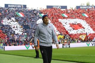"""Il messaggio di Mihajlovic al pubblico di Bologna: """"Mi avete dato tanta forza"""""""