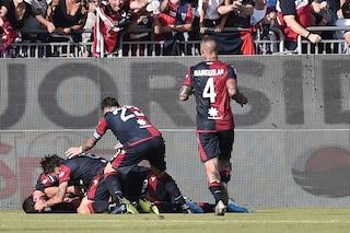 Il Cagliari sogna: 14 punti in 8 gare solo con Riva e nell'anno dello Scudetto