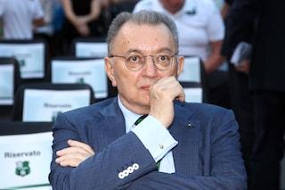 Giorgio Squinzi, il toccante saluto della società e della città neroverde