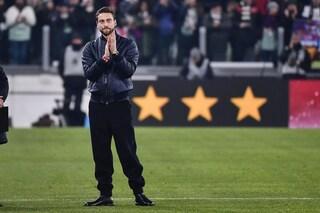 Juventus, Marchisio si porta a casa un ricordo: una zolla d'erba dello Stadium