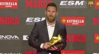 Messi, nessuno come lui: l'argentino ha vinto la sua sesta Scarpa d'Oro