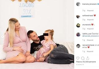 Marcelo Brozovic ancora papà: è nato Rafael, il secondo figlio