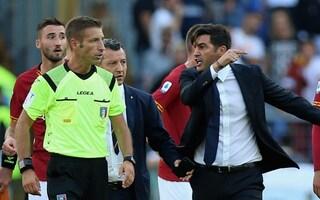 Roma, squalifica ridotta a Paulo Fonseca: non sarà in panchina solo nella gara con la Samp