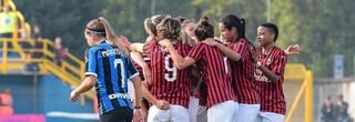 Il Milan vince il primo storico derby femminile, Inter battuta 3-1