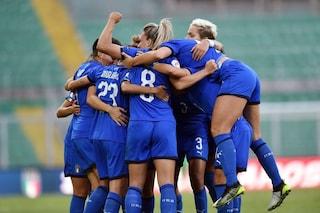 Euro 2021, l'Italia femminile batte la Bosnia e resta prima nel girone di qualificazione
