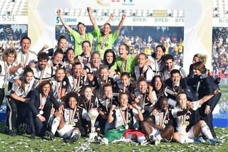 La Juventus batte la Fiorentina e vince la Supercoppa femminile