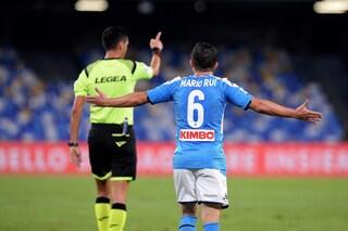 Napoli, infortunio per Mario Rui: salterà la partita con il Torino
