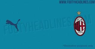 Milan, svelata la terza maglia per la stagione 2020/2021: sarà di colore azzurro