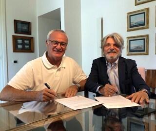 Claudio Ranieri alla Sampdoria, ora c'è anche l'ufficialità: ha firmato un biennale